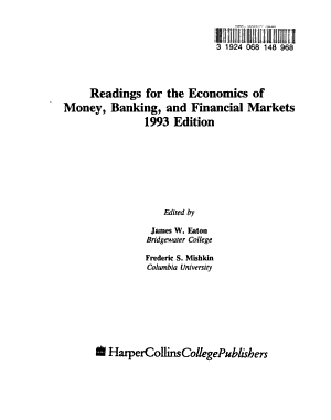 Readings for the Economics of Money  Banking  and Financial Markets PDF