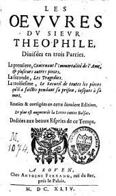 Les oevvres de Théophile