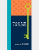 Pocket Keys for Writers with APA 7e Updates  Spiral bound Version