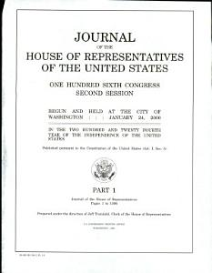 Journal of the House of Representatives of the United States PDF