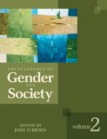 Encyclopedia of Gender and Society PDF