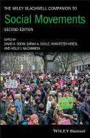 The Wiley Blackwell Companion to Social Movements PDF