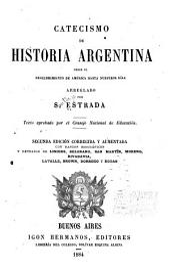 Catecismo de historia Argentina desde el descubrimiento de América hasta nuestros días