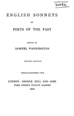English Sonnets by Poets of the Past PDF