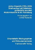 Julius Klaproth  1783 1835  PDF
