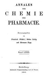 Annalen der Chemie und Pharmacie: Bände 3-4;Bände 79-80