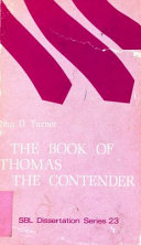 The Book of Thomas the Contender, from Codex II of the Cairo Gnostic Library from Nag Hammadi (CG II, 7)