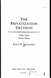 Privatization Decision PDF