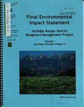 Humboldt-Toiyabe National Forest (N.F.), Jarbidge Ranger District Rangeland Management Project: Environmental Impact Statement