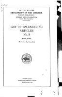 List of Engineering Articles     PDF