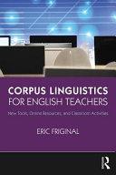 Corpus Linguistics for English Teachers PDF