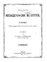 Wiener medizinische Bl  tter PDF