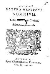 Satyra Menippaea somnium