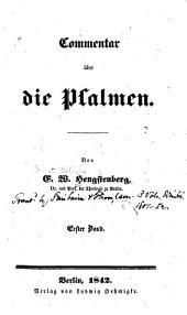 Commentar über die Psalmen: Band 1