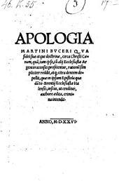 Apologia, qua fidei suae atque doctrinae circa Christi coenam ... rationem simpliciter reddite etc