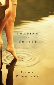 Jumping in Sunset