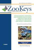 Zoogeography  Taxonomy  and Conservation of West Virginia s Ohio River Floodplain Crayfishes  Decapoda  Cambaridae  PDF