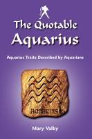 The Quotable Aquarius PDF