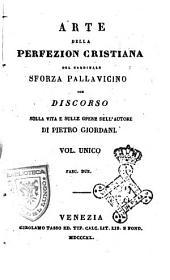 Arte della perfezion cristiana del cardinale Sforza Pallavicino