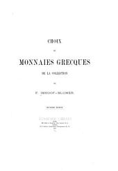 Choix de monnaies grecques de la collection