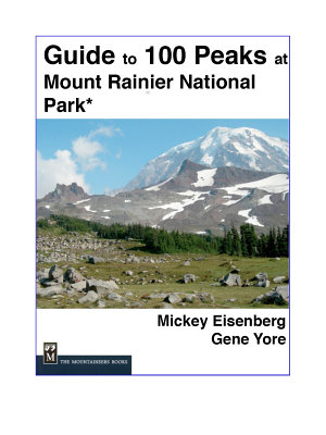 Guide to 100 Peaks at Mount Rainier Park PDF