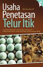Usaha Penetasan Telur Itik
