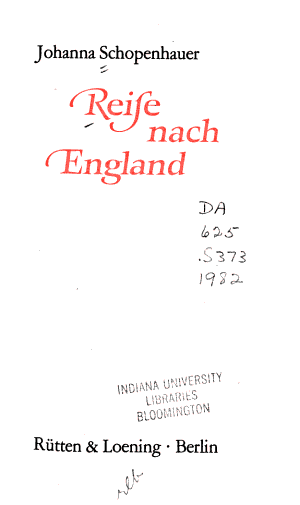 Reise nach England PDF