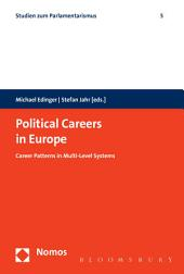 Political Careers in Europe: Career Patterns in Multi-Level Systems
