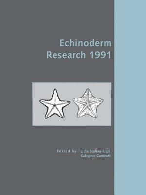 Echinoderm Research 1991