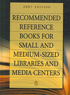 Recommended Reference Books for Small and Medium sized Libraries and Media Centers PDF