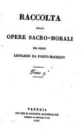 Raccolta delle (sue) opere sacro-morali: Volume 4