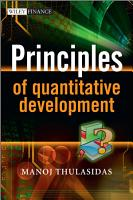 Principles of Quantitative Development PDF