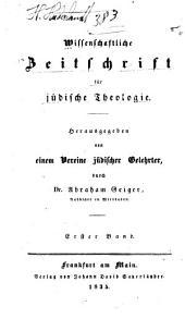 Wissenschaftliche Zeitschrift für jüdische Theologie