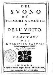 Del Svono de'Tremori Armonici e dell' Vdito