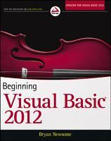 Beginning Visual Basic 2012 PDF