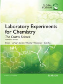 Laboratory Experiments for Chemistry