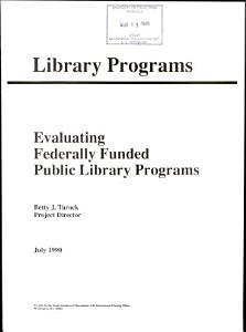 Library Programs