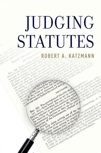 Download Judging Statutes Book
