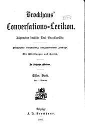 Brockhaus' Conversations-Lexikon: allgemeine deutsche Real-Encyklopädie, Band 11