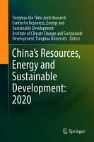 China   s Resources  Energy and Sustainable Development  2020 PDF