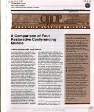 A Comparison of Four Restorative Conferencing Models PDF