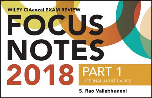 Wiley CIAexcel Exam Review 2018 Focus Notes  Part 1 PDF