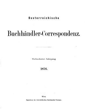 sterreichische Buchh  ndler Correspondenz PDF