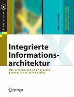 Integrierte Informationsarchitektur PDF
