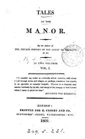 Tales of the manor, by the author of The private history of the court of England