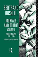 Mortals and Others  Volume II PDF