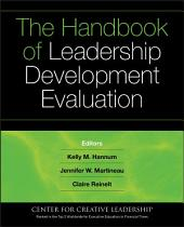 The Handbook of Leadership Development Evaluation