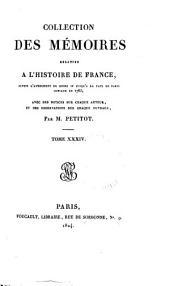 Mémoires de la duchesse de Nemours: contenant ce qui s'est passé de plus particulier en France pendant la guerre de Paris, jusqu'à la prison du Cardinal de Retz en 1652, avec les differens caractères de personnes de la cour, Volume34