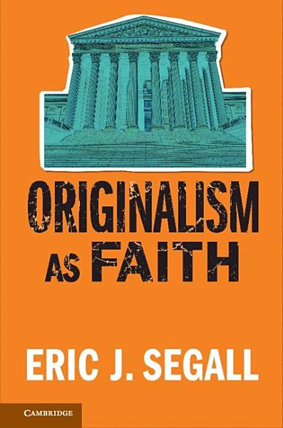Download Originalism as Faith Book