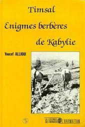 Timsal - Enigmes berbères de Kabylie
